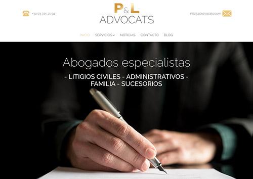 diseño web para abogado